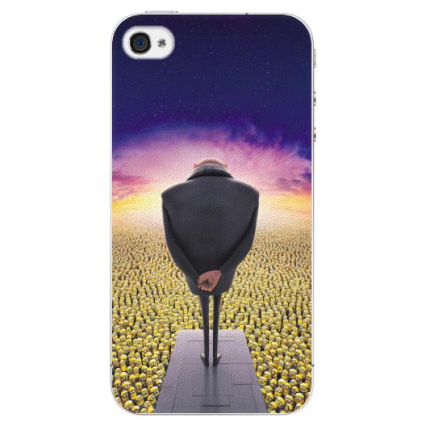 Plastové puzdro iSaprio - Gru - iPhone 4/4S