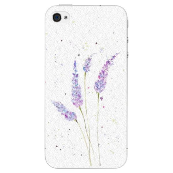 Plastové puzdro iSaprio - Lavender - iPhone 4/4S