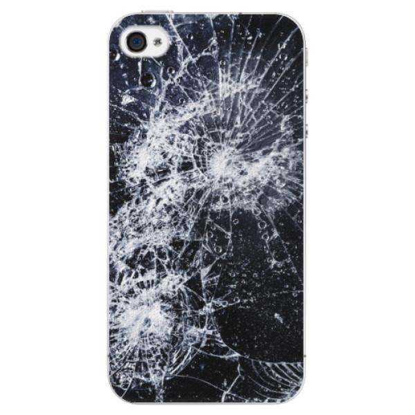 Plastové puzdro iSaprio - Cracked - iPhone 4/4S