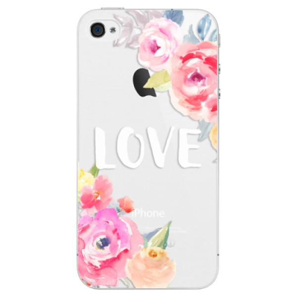 Plastové puzdro iSaprio - Love - iPhone 4/4S