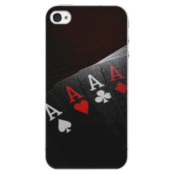 Plastové puzdro iSaprio - Poker - iPhone 4/4S