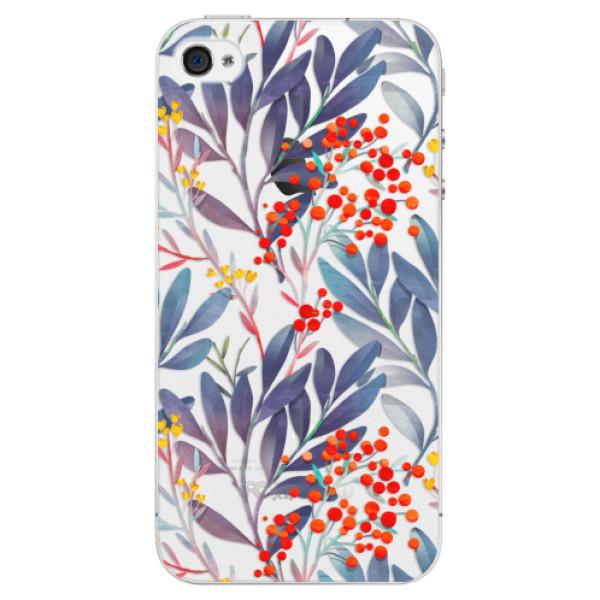 Plastové puzdro iSaprio - Rowanberry - iPhone 4/4S