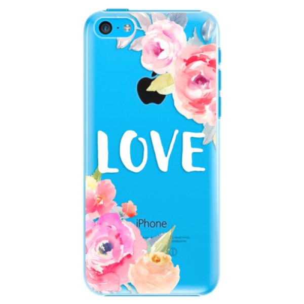 Plastové puzdro iSaprio - Love - iPhone 5C