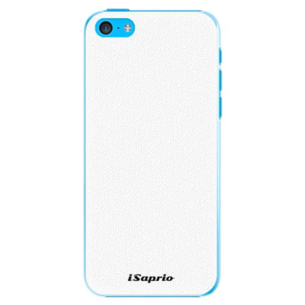 Plastové puzdro iSaprio - 4Pure - bílý - iPhone 5C