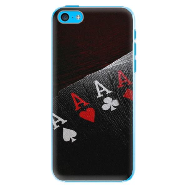 Plastové puzdro iSaprio - Poker - iPhone 5C