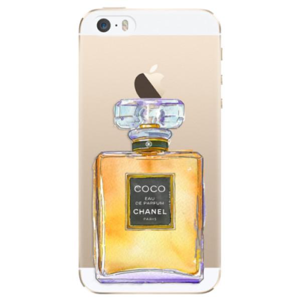 Plastové puzdro iSaprio - Chanel Gold - iPhone 5/5S/SE