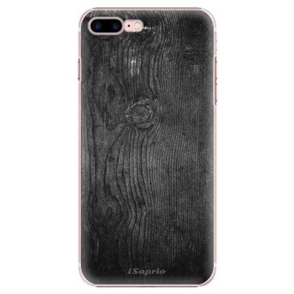 Plastové puzdro iSaprio - Black Wood 13 - iPhone 7 Plus
