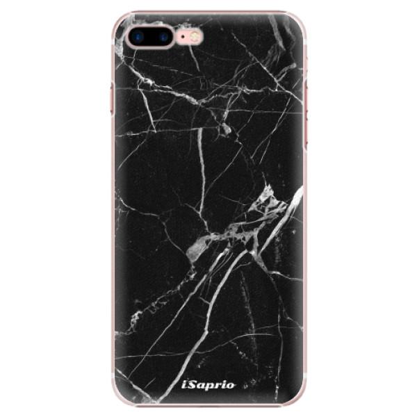 Plastové puzdro iSaprio - Black Marble 18 - iPhone 7 Plus