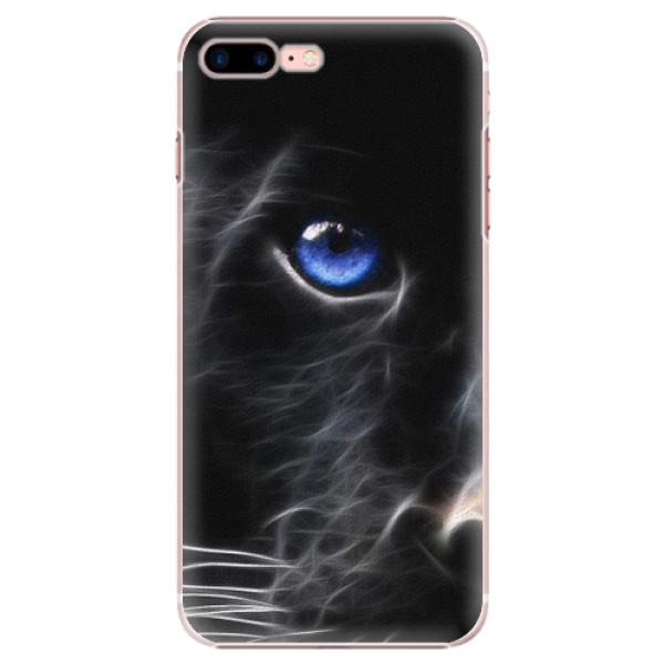 Plastové puzdro iSaprio - Black Puma - iPhone 7 Plus