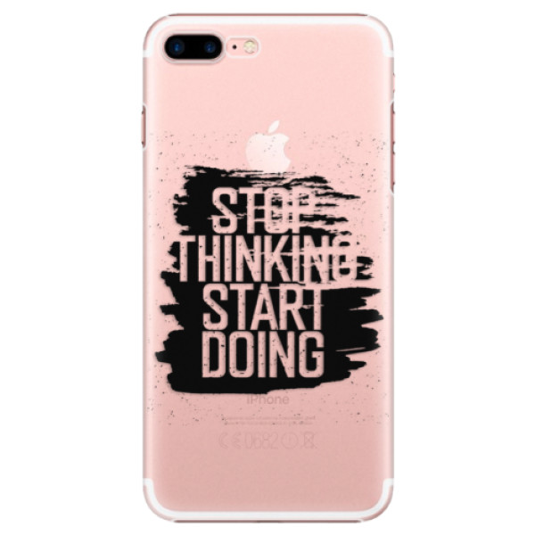 Plastové puzdro iSaprio - Start Doing - black - iPhone 7 Plus