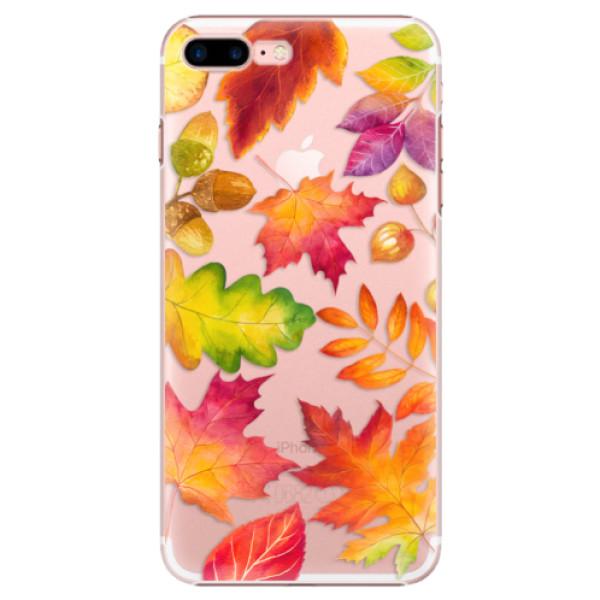 Plastové puzdro iSaprio - Autumn Leaves 01 - iPhone 7 Plus