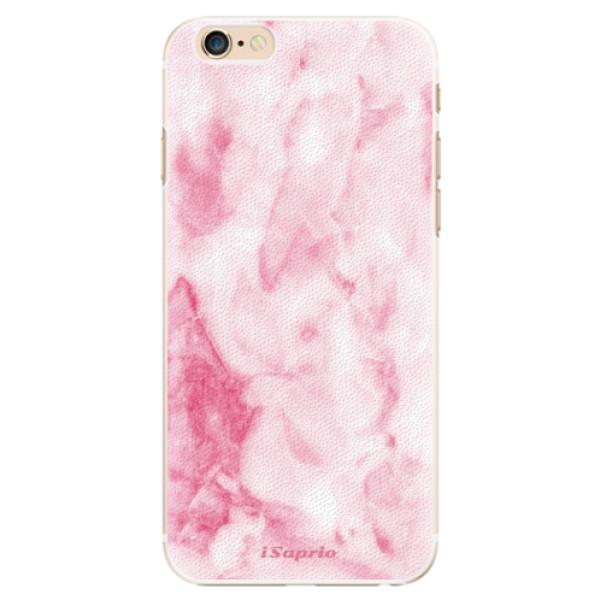 Plastové puzdro iSaprio - RoseMarble 16 - iPhone 6/6S