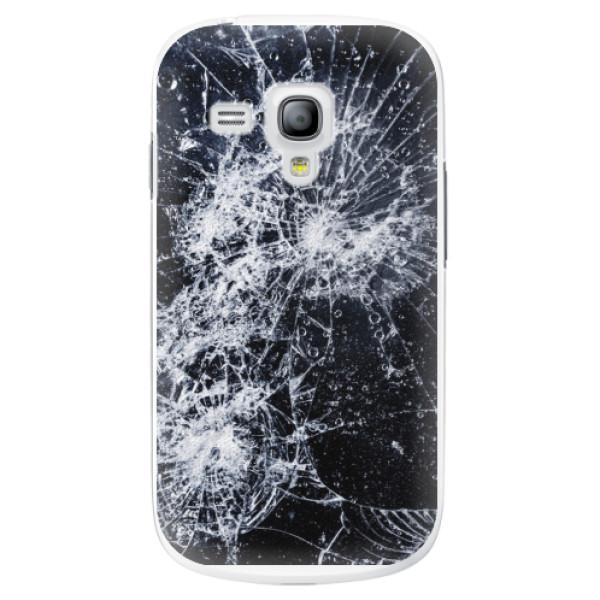 Plastové puzdro iSaprio - Cracked - Samsung Galaxy S3 Mini