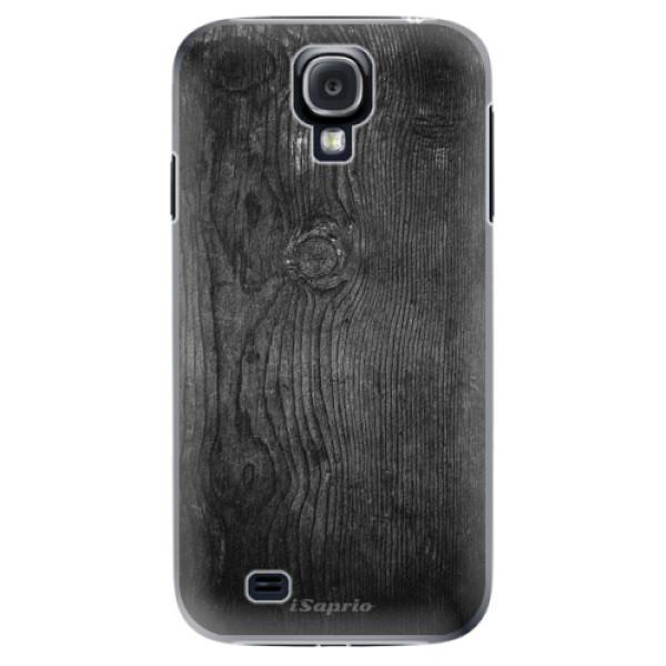 Plastové puzdro iSaprio - Black Wood 13 - Samsung Galaxy S4