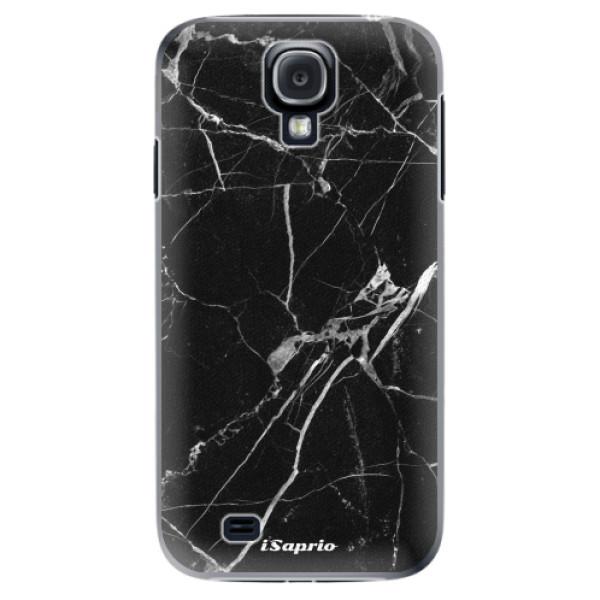 Plastové puzdro iSaprio - Black Marble 18 - Samsung Galaxy S4