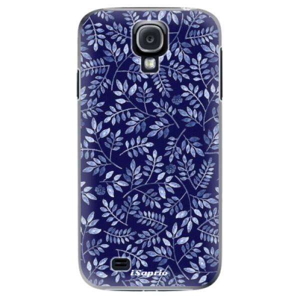 Plastové puzdro iSaprio - Blue Leaves 05 - Samsung Galaxy S4