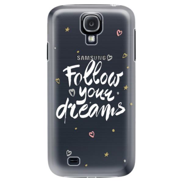 Plastové puzdro iSaprio - Follow Your Dreams - white - Samsung Galaxy S4