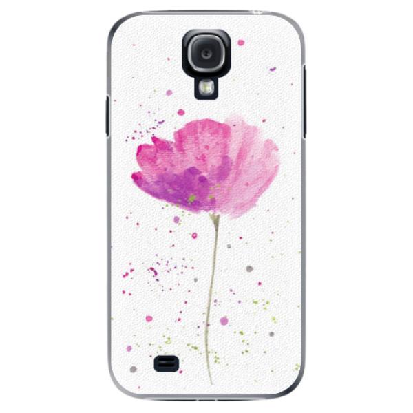 Plastové puzdro iSaprio - Poppies - Samsung Galaxy S4