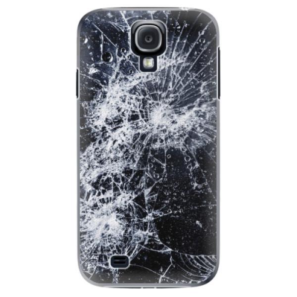 Plastové puzdro iSaprio - Cracked - Samsung Galaxy S4