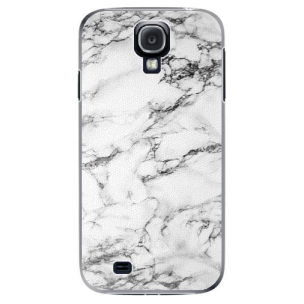 Plastové puzdro iSaprio - White Marble 01 - Samsung Galaxy S4