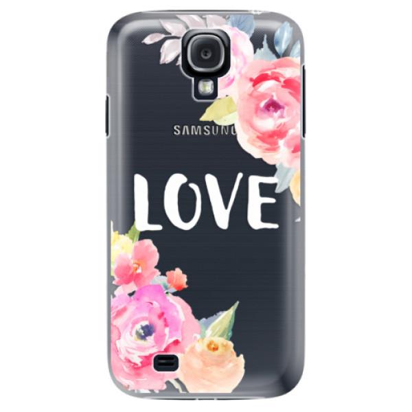 Plastové puzdro iSaprio - Love - Samsung Galaxy S4