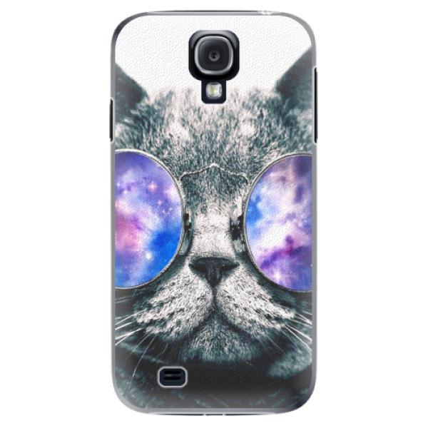 Plastové puzdro iSaprio - Galaxy Cat - Samsung Galaxy S4