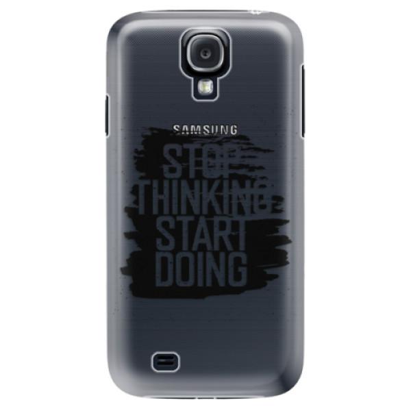 Plastové puzdro iSaprio - Start Doing - black - Samsung Galaxy S4