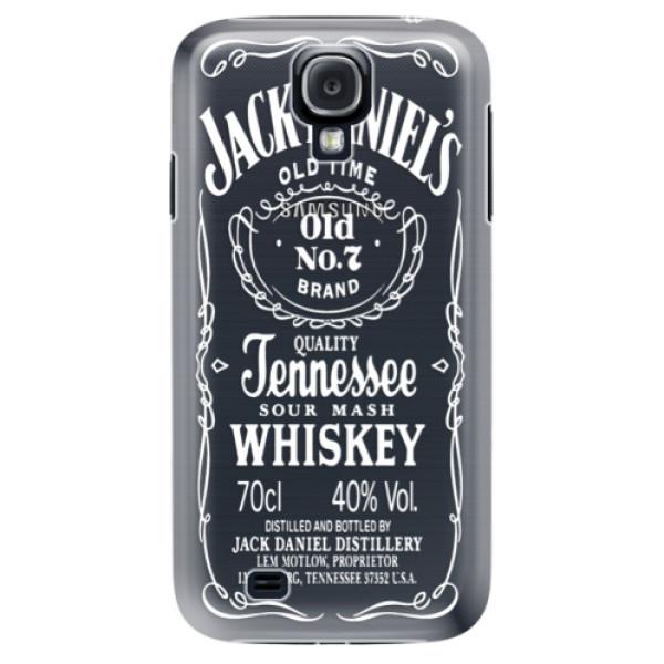 Plastové puzdro iSaprio - Transparent White Jack - Samsung Galaxy S4