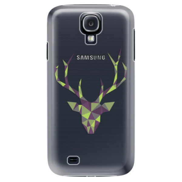 Plastové puzdro iSaprio - Deer Green - Samsung Galaxy S4