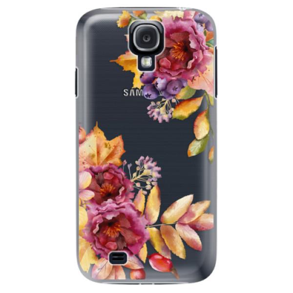 Plastové puzdro iSaprio - Fall Flowers - Samsung Galaxy S4