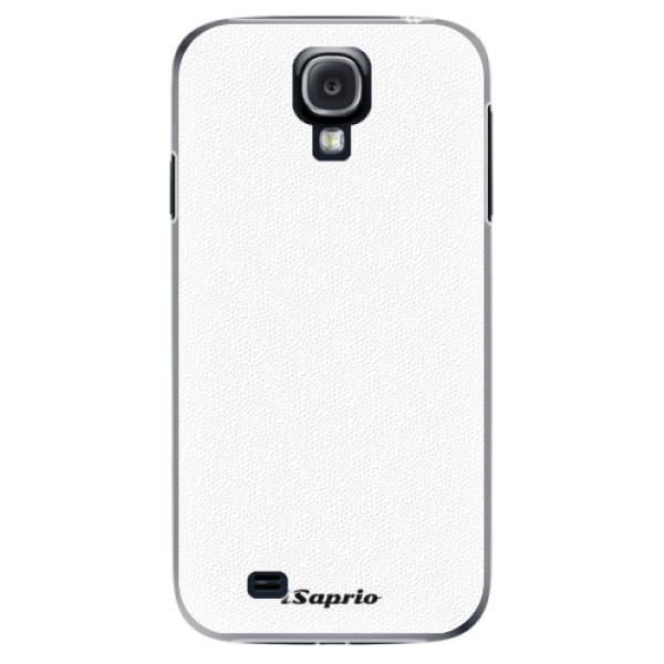 Plastové puzdro iSaprio - 4Pure - bílý - Samsung Galaxy S4