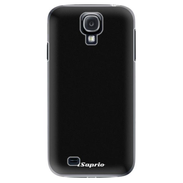 Plastové puzdro iSaprio - 4Pure - černý - Samsung Galaxy S4