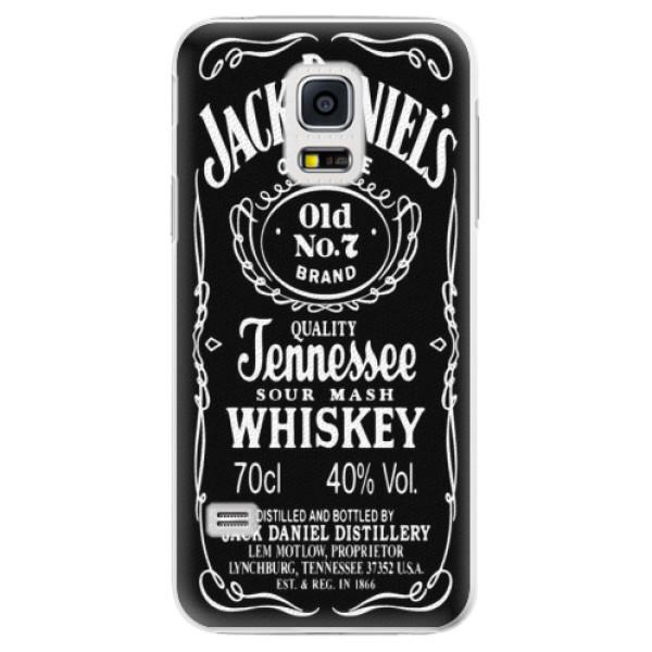 Plastové puzdro iSaprio - Jack Daniels - Samsung Galaxy S5 Mini
