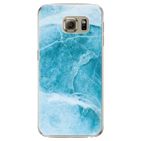 Plastové puzdro iSaprio - Blue Marble - Samsung Galaxy S6