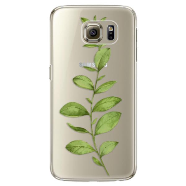 Plastové puzdro iSaprio - Green Plant 01 - Samsung Galaxy S6