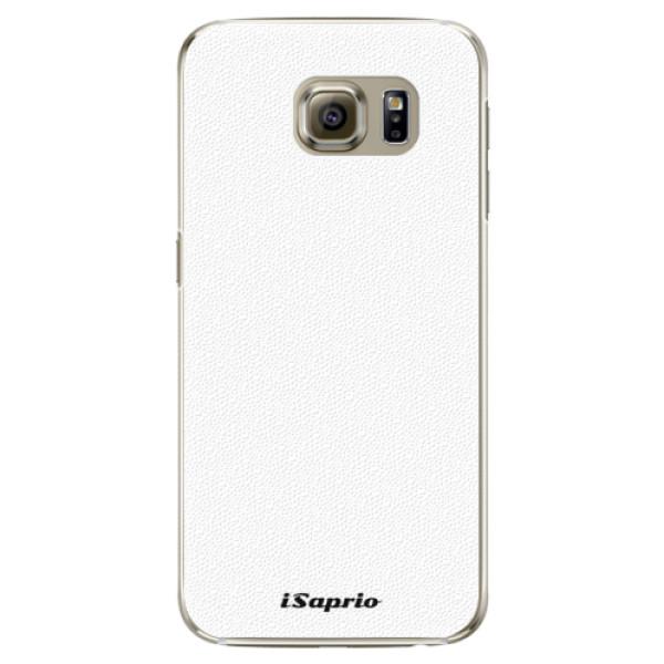 Plastové puzdro iSaprio - 4Pure - bílý - Samsung Galaxy S6