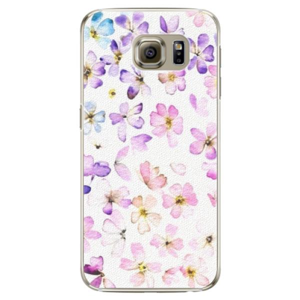 Plastové puzdro iSaprio - Wildflowers - Samsung Galaxy S6 Edge