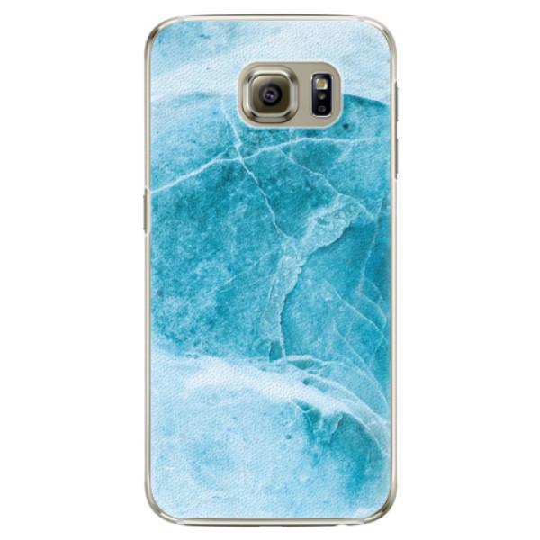 Plastové puzdro iSaprio - Blue Marble - Samsung Galaxy S6 Edge