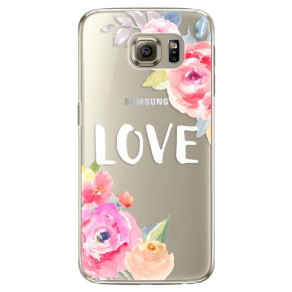 Plastové puzdro iSaprio - Love - Samsung Galaxy S6 Edge