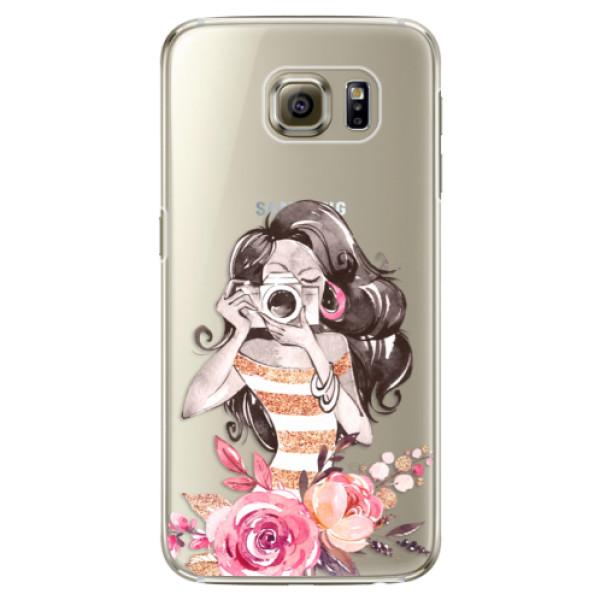 Plastové puzdro iSaprio - Charming - Samsung Galaxy S6 Edge