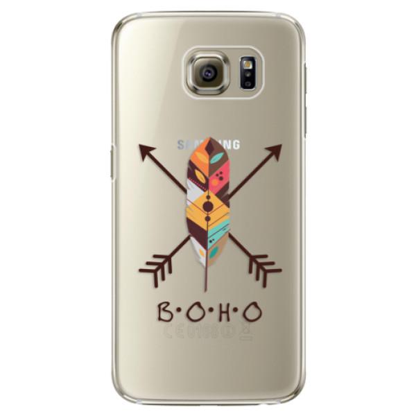 Plastové puzdro iSaprio - BOHO - Samsung Galaxy S6 Edge