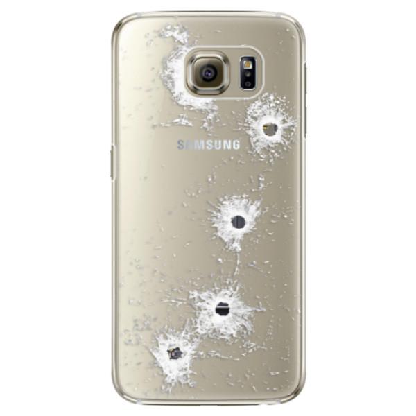 Plastové puzdro iSaprio - Gunshots - Samsung Galaxy S6 Edge