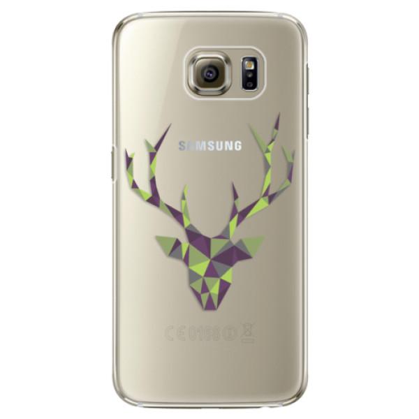 Plastové puzdro iSaprio - Deer Green - Samsung Galaxy S6 Edge
