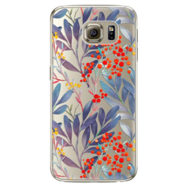 Plastové puzdro iSaprio - Rowanberry - Samsung Galaxy S6 Edge