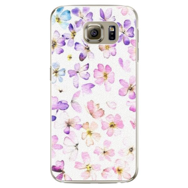 Plastové puzdro iSaprio - Wildflowers - Samsung Galaxy S6 Edge Plus