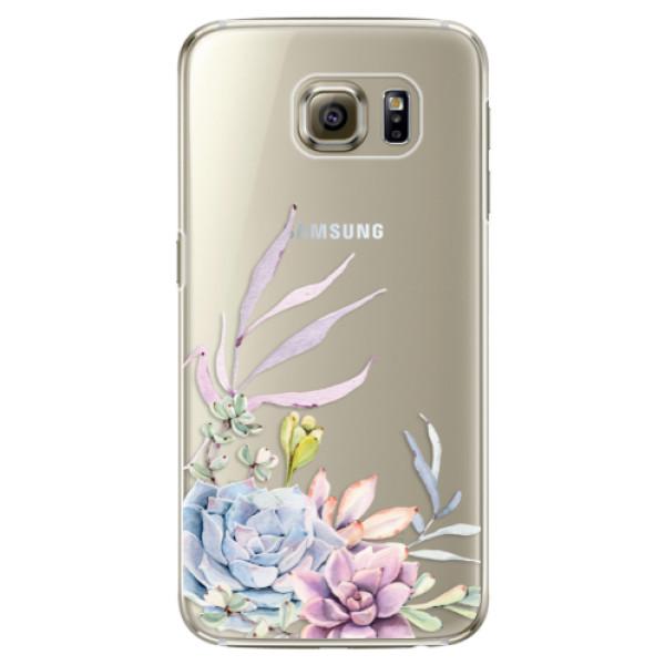 Plastové puzdro iSaprio - Succulent 01 - Samsung Galaxy S6 Edge Plus