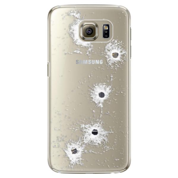 Plastové puzdro iSaprio - Gunshots - Samsung Galaxy S6 Edge Plus