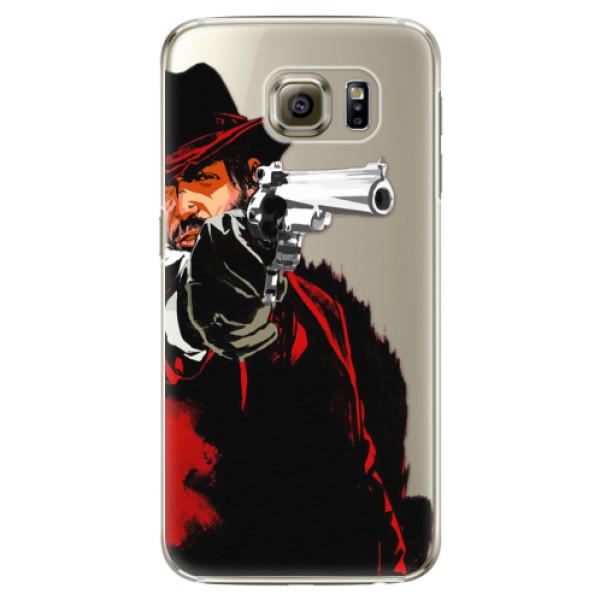 Plastové puzdro iSaprio - Red Sheriff - Samsung Galaxy S6 Edge Plus