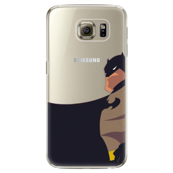 Plastové puzdro iSaprio - BaT Comics - Samsung Galaxy S6 Edge Plus