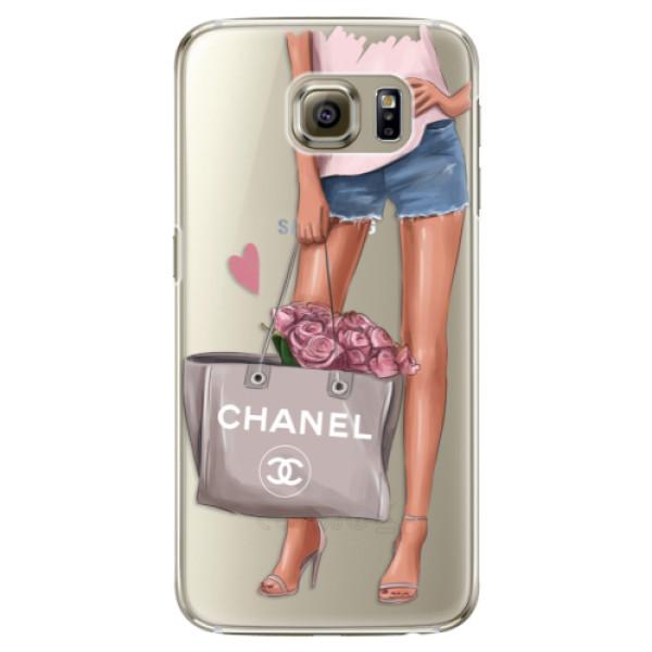 Plastové puzdro iSaprio - Fashion Bag - Samsung Galaxy S6 Edge Plus